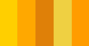 A Juicy Burst of Yellows and Oranges Color Palette