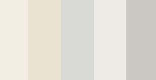 Timeless Off Whites Color Palette