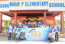 We Care We Share activity at Bagong Buhay (F) Elementary School
