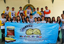 We Care We Share activity at San Fernando