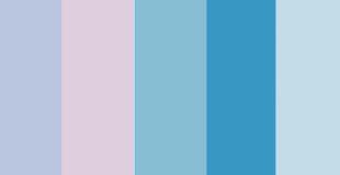 Hy Blues And Purples Color Palette